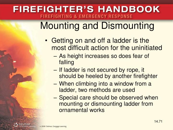 Mounting and Dismounting