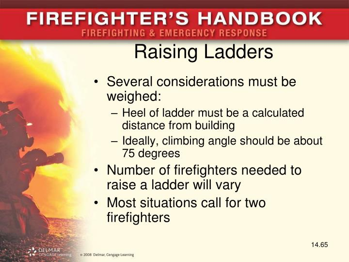Raising Ladders