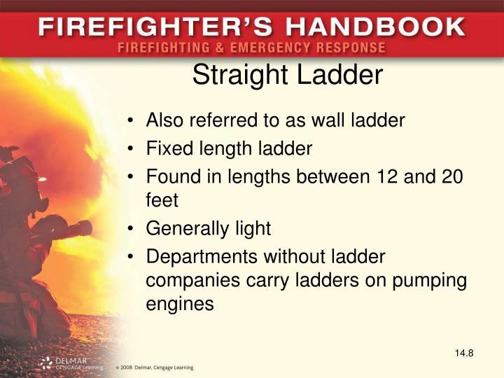 Straight Ladder