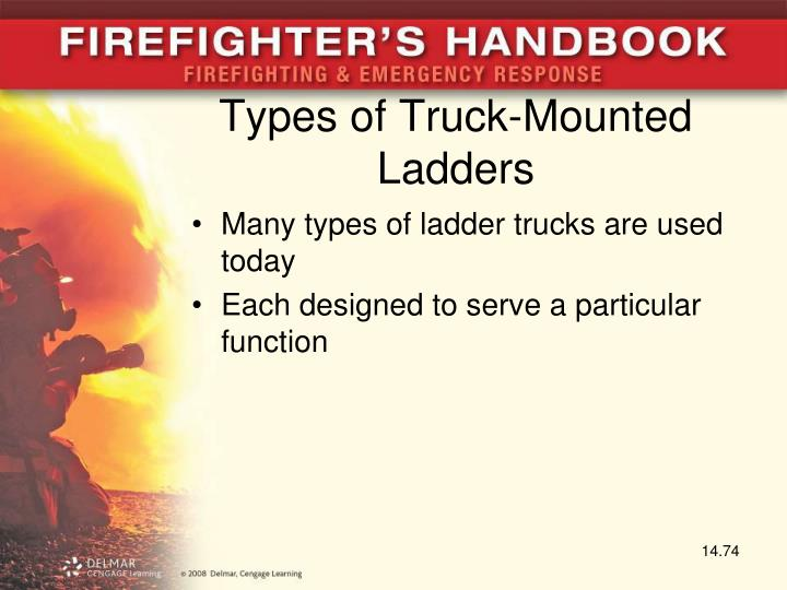 Types of Truck-Mounted Ladders