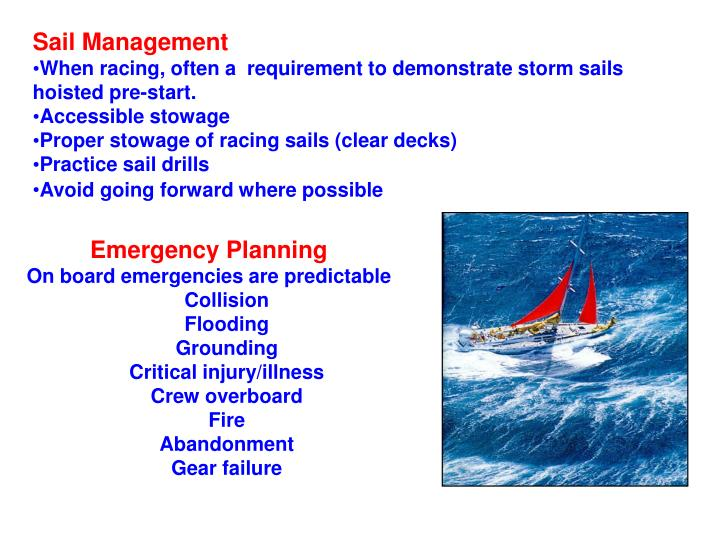 Sail Management