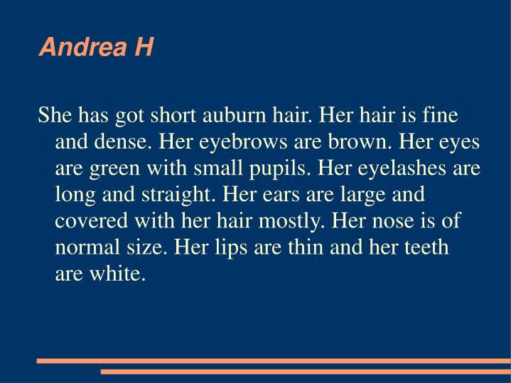 Andrea H