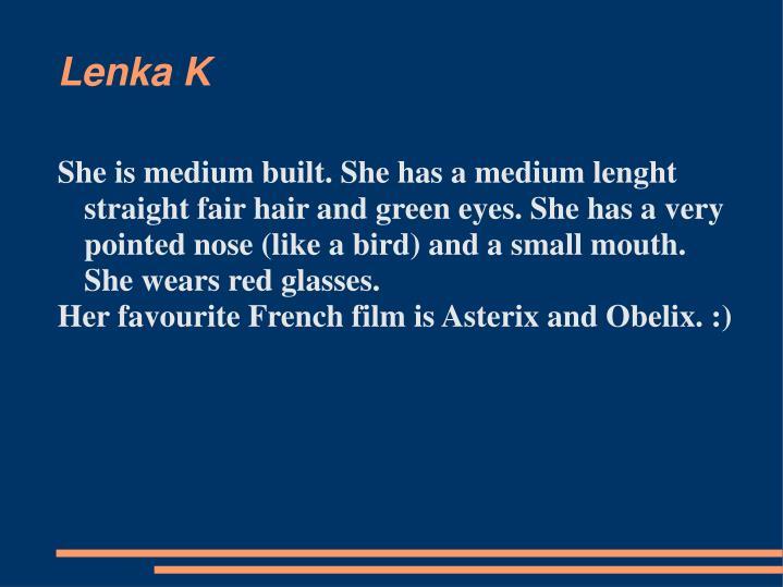 Lenka K