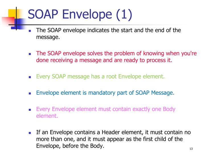 SOAP Envelope (1)