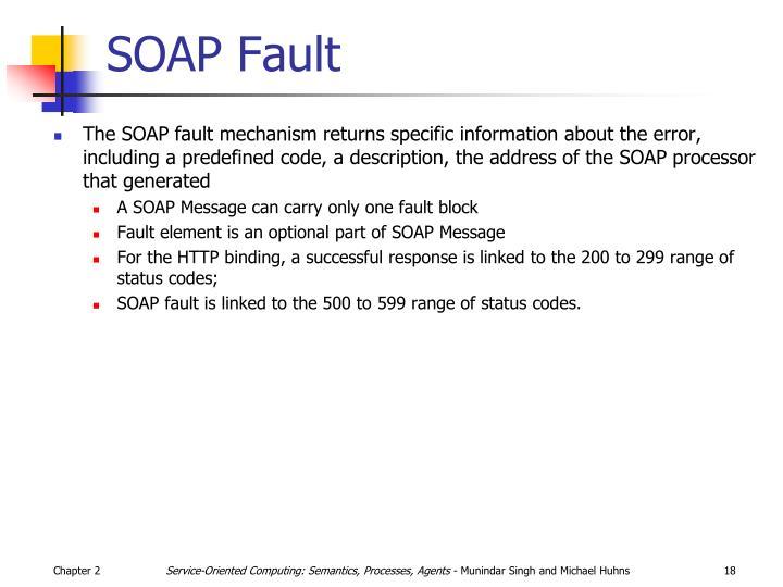 SOAP Fault