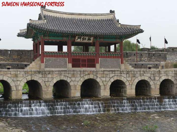 SUWEON HWASEONG FORTRESS