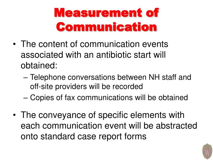 Measurement of Communication