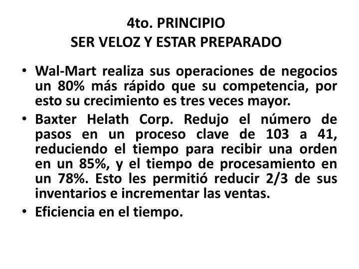 4to. PRINCIPIO