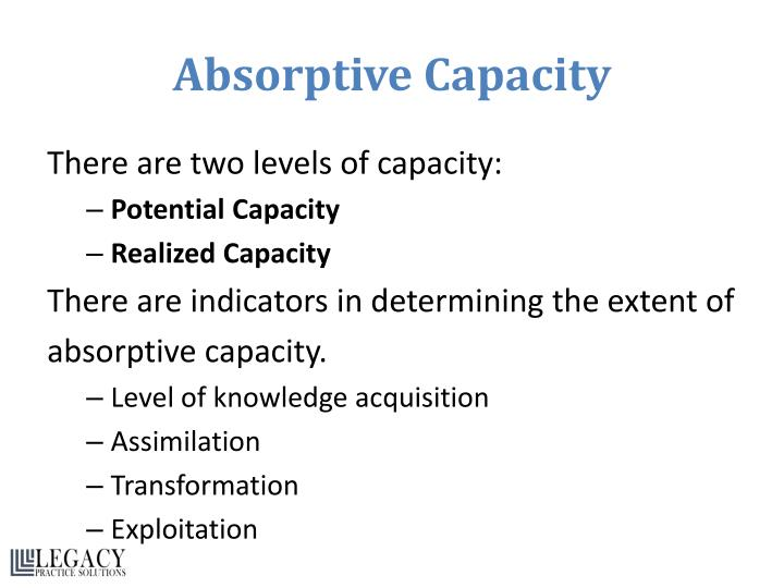 Absorptive Capacity