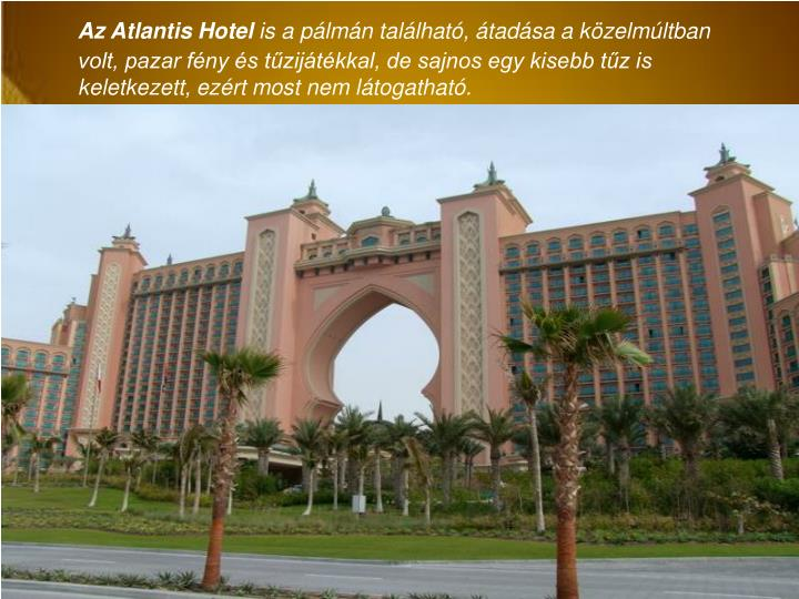 Az Atlantis Hotel