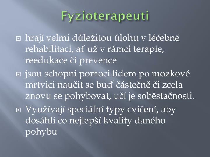 Fyzioterapeuti