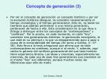 concepto de generaci n 3