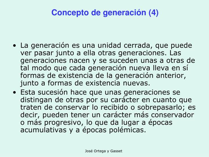 Concepto de generación (4)