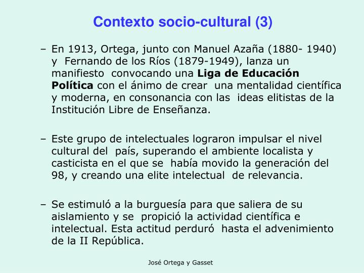 Contexto socio-cultural (3)