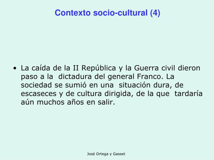 Contexto socio-cultural (4)