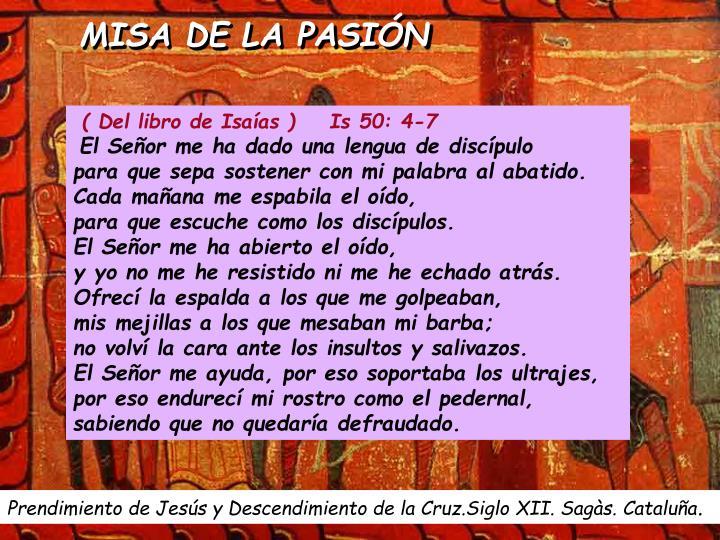 MISA DE LA PASIÓN