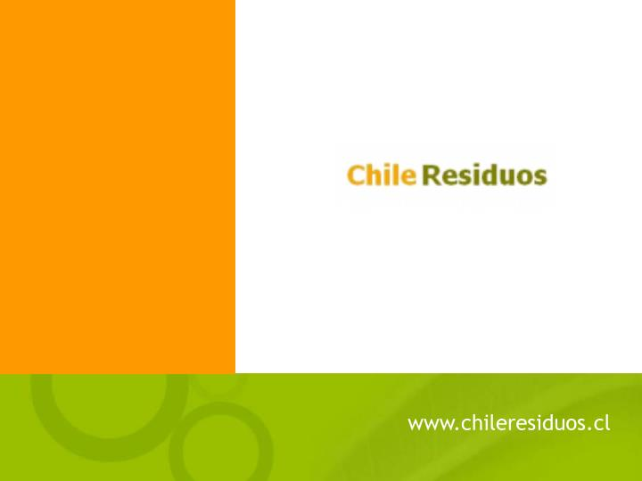 www.chileresiduos.cl