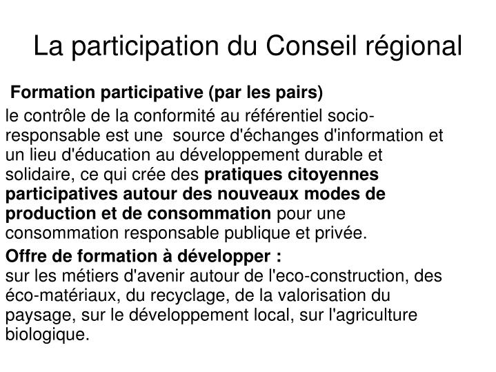 Formation participative (par les pairs)