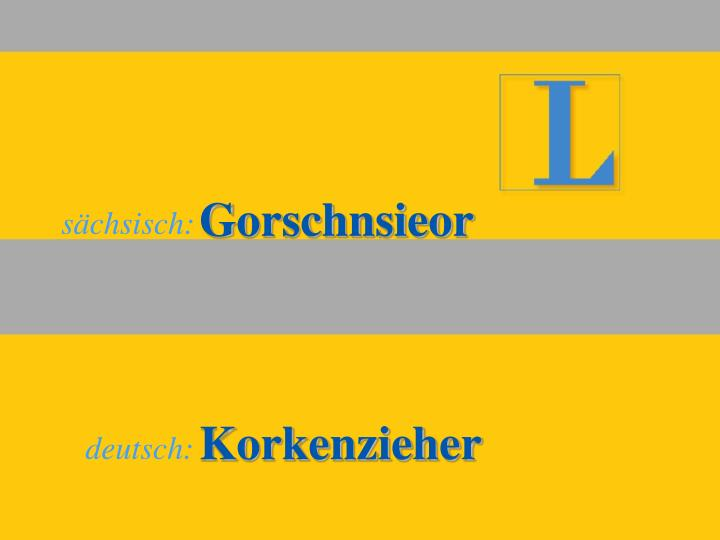 Gorschnsieor