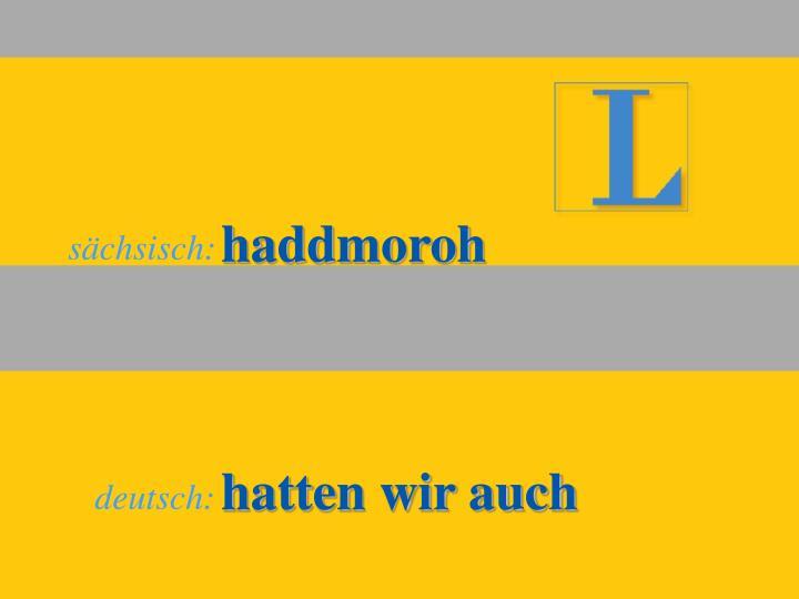 haddmoroh