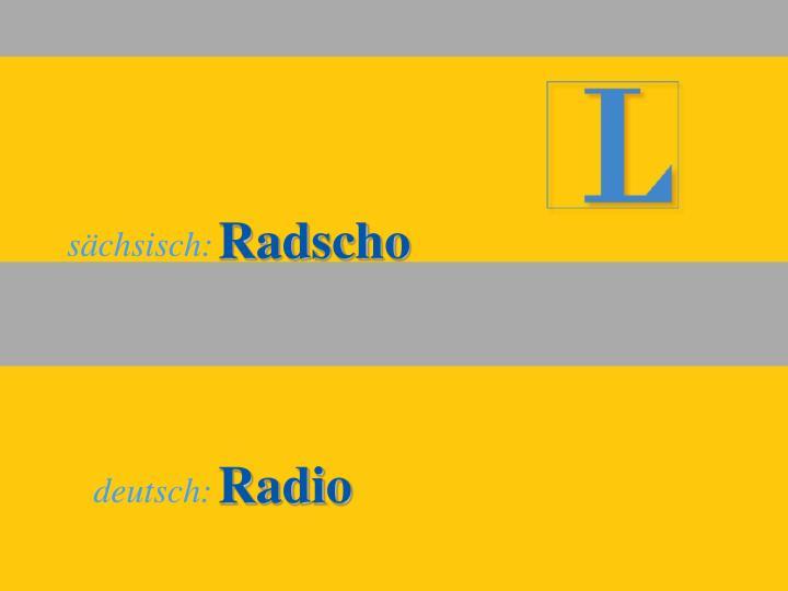 Radscho