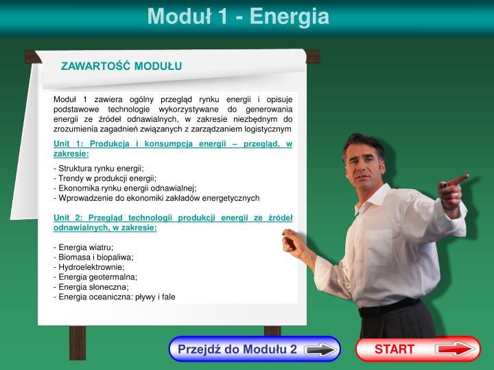Moduł 1 - Energia
