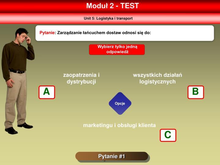 Moduł 2 - TEST