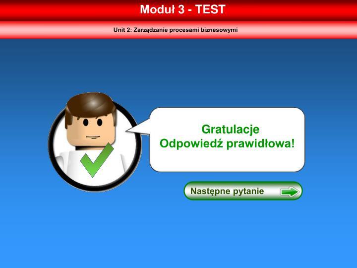 Moduł 3 - TEST