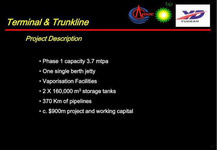Phase 1 capacity 3.7 mtpa