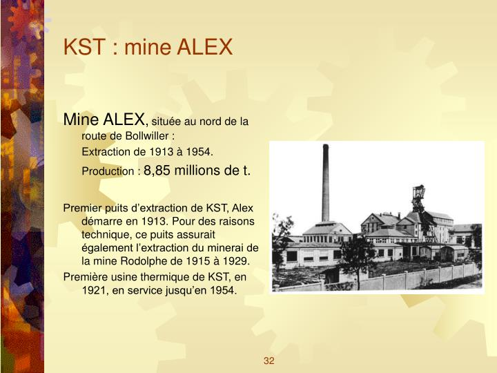 KST : mine ALEX