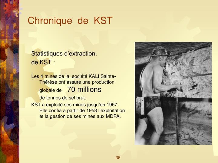 Chronique  de  KST