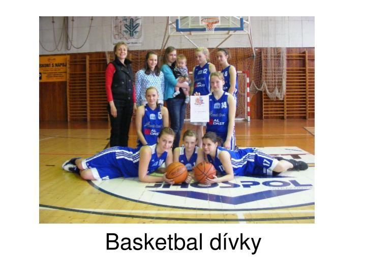Basketbal dívky