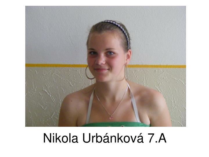 Nikola Urbánková 7.A