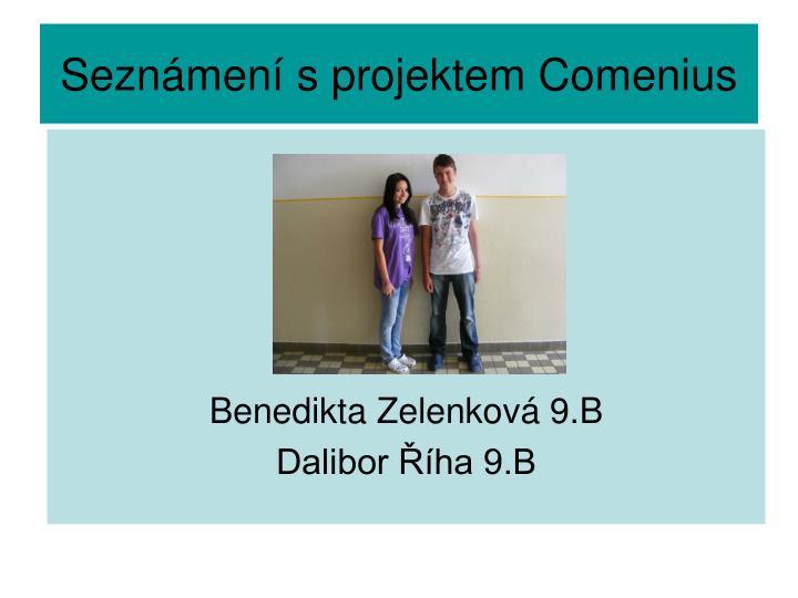Seznámení s projektem Comenius