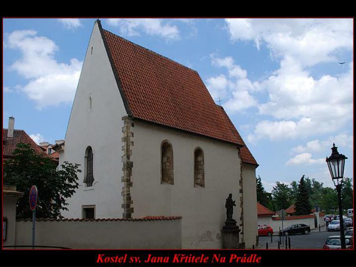 Kostel sv. Jana Křtitele Na Prádle