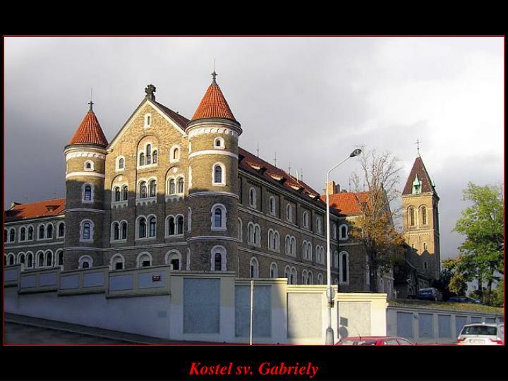Kostel sv. Gabriely
