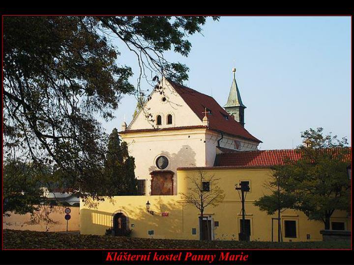Klášterní kostel Panny Marie