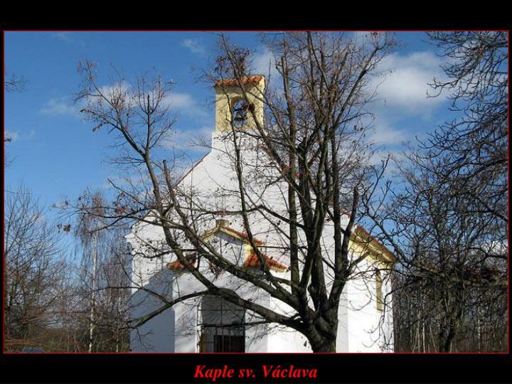 Kaple sv. Václava