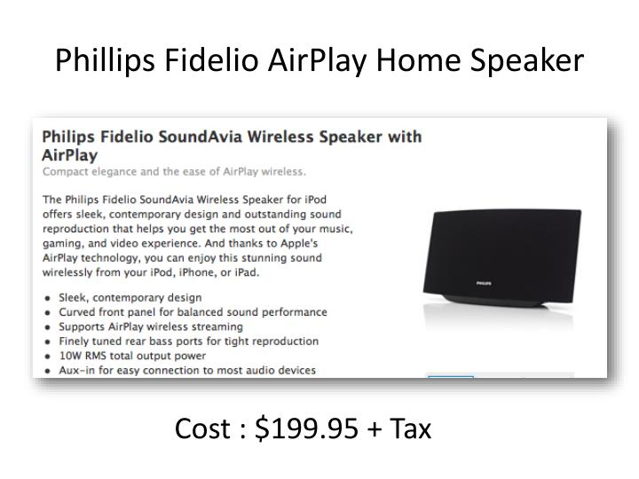Phillips Fidelio