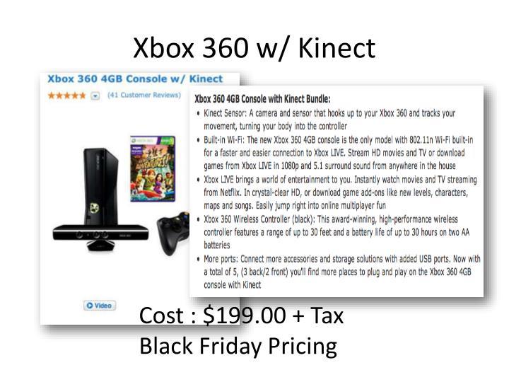 Xbox 360 w/