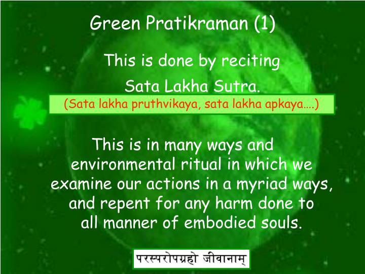 Green Pratikraman (1)