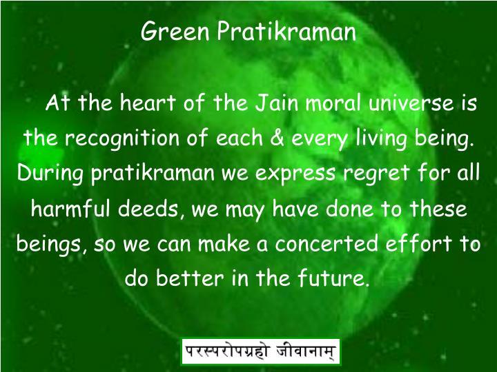 Green Pratikraman