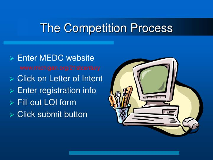The Competition Process