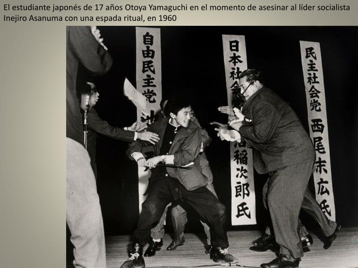 El estudiante japonés de 17 años