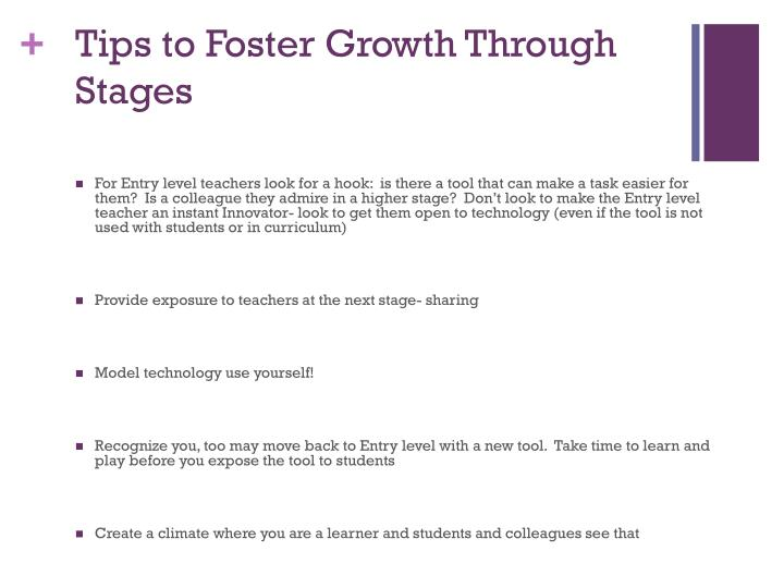 Tips to Foster