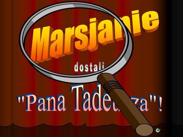 Marsjanie