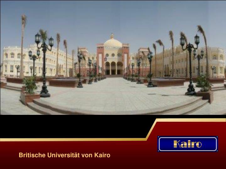 Britische Universität von Kairo
