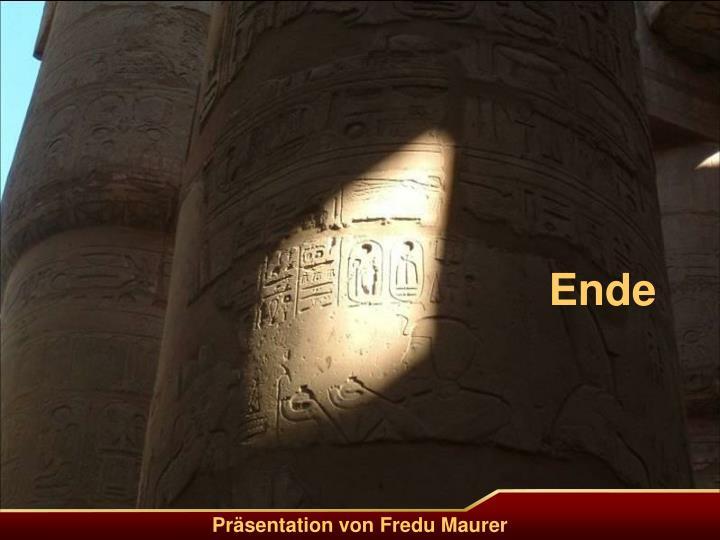 Präsentation von Fredu Maurer