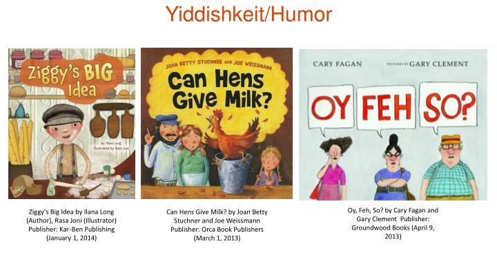 Yiddishkeit/Humor