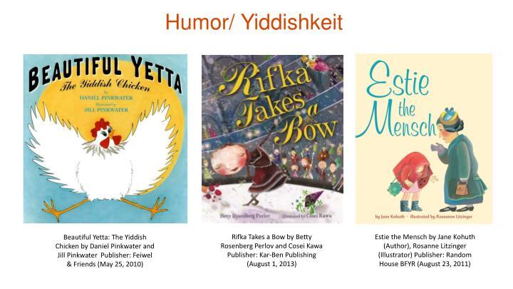 Humor/ Yiddishkeit